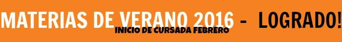 MATERIAS DE VERANO logo