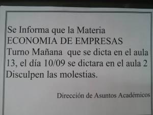 economía de empresas