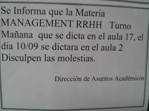 management rrhh