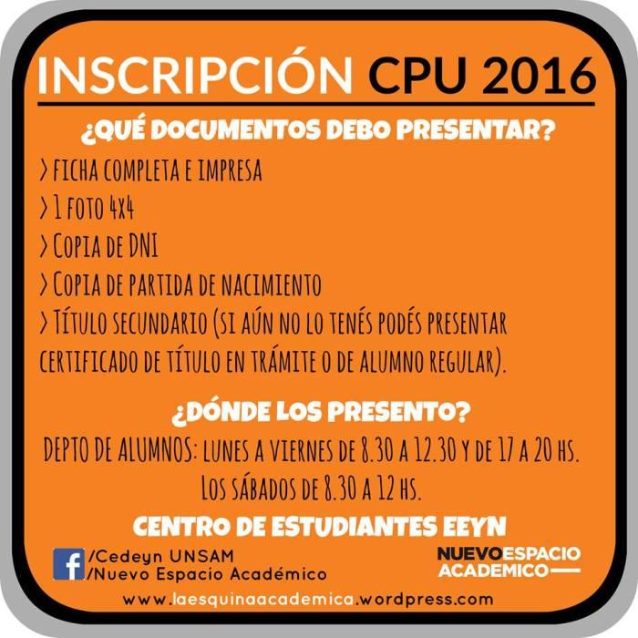 CPU2016